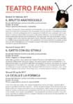 Rassegna Scuole al Teatro Fanin – San Giovanni in Persiceto (BO)