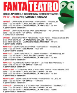 Corsi Teatro 2017-2018 VOLANTINO