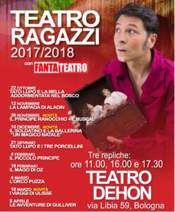 Rassegna Fantateatro Dehon 2017-2018 LOCANDINA