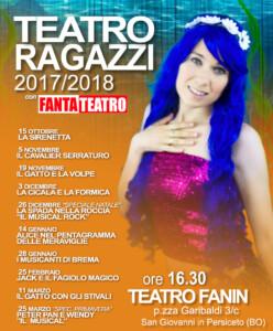 Rassegna Fantateatro Fanin 2017-2018 LOCANDINA