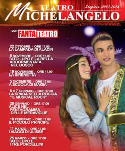 Rassegna Fantateatro Michelangelo 2017-2018 LOCANDINA