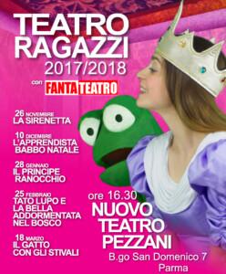 Rassegna Fantateatro Pezzani 2017-2018 LOCANDINA