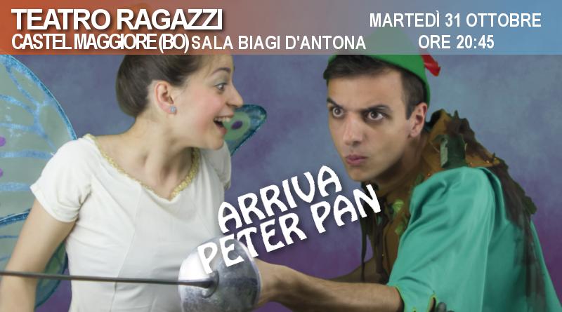 Arriva Peter Pan – Rassegna Sala Biagi D'Antona