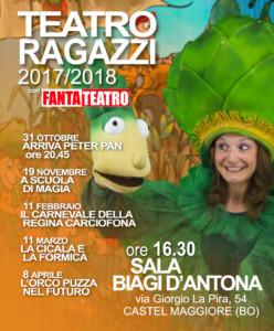 Rassegna Sala BIagi D'Antona LOCANDINA 2017-2018
