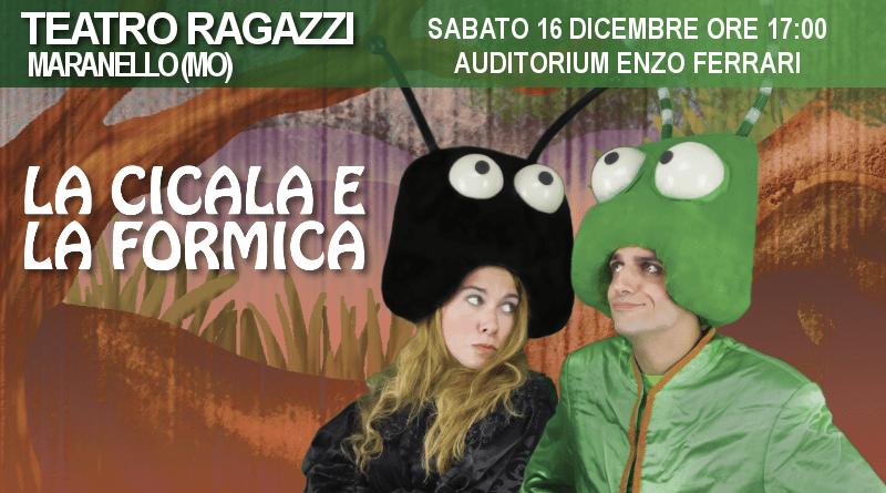 La cicala e la formica – Rassegna Auditorium Enzo Ferrari