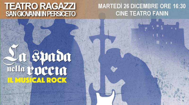 La spada nella roccia – Il musical rock – Rassegna Teatro Fanin
