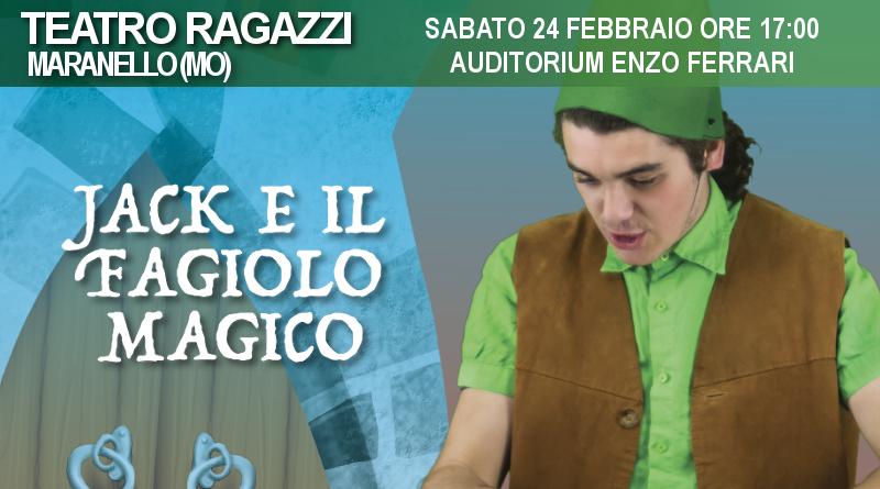 Jack e il fagiolo magico – Rassegna Auditorium Enzo Ferrari