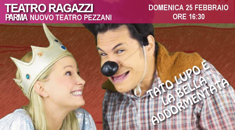 Tato Lupo e la Bella Addormentata nel bosco – Rassegna Teatro Pezzani