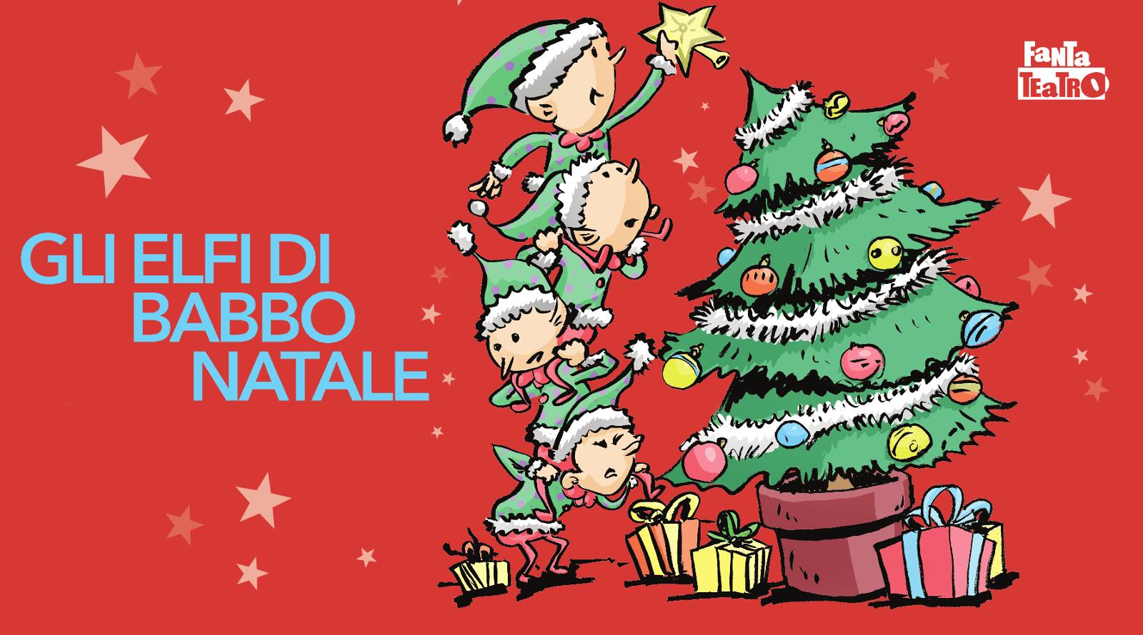 Babbo Natale E Gli Elfi.6 1 Gli Elfi Di Babbo Natale Modena Fantateatro